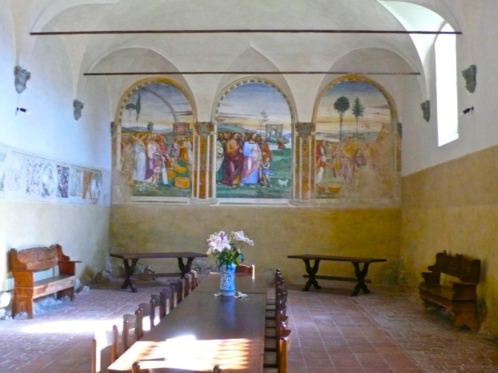 Tuscany, Pienza Frescoes (1503) by Antonio Bazzi known as Il Sodoma