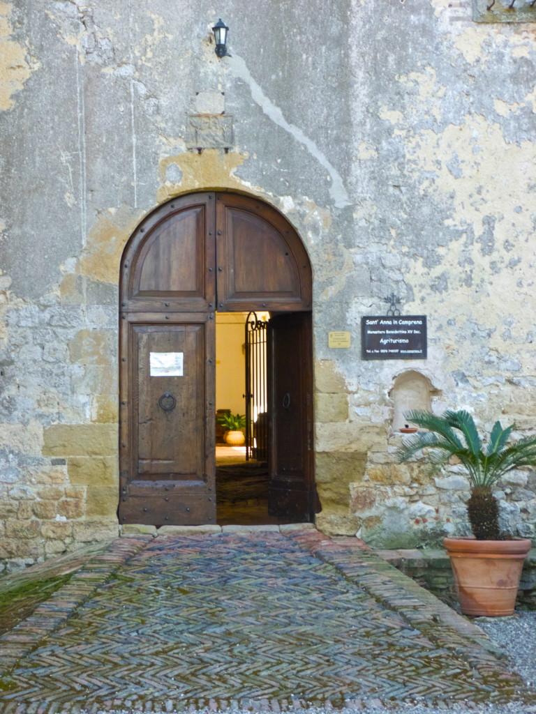 Sant'Anna in Camprena Pienza italy agriturismo