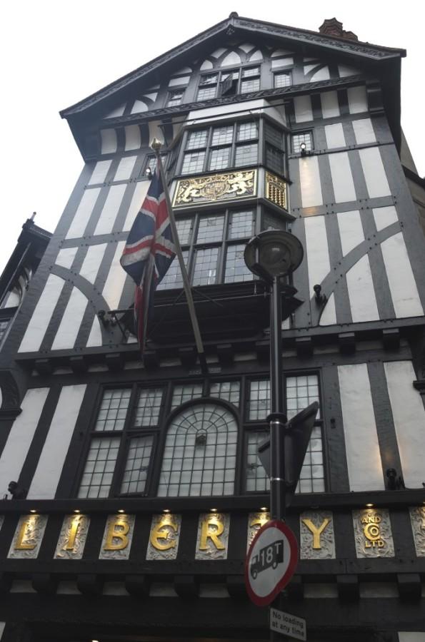 Liberty of London tudor shopfront Regent Street London