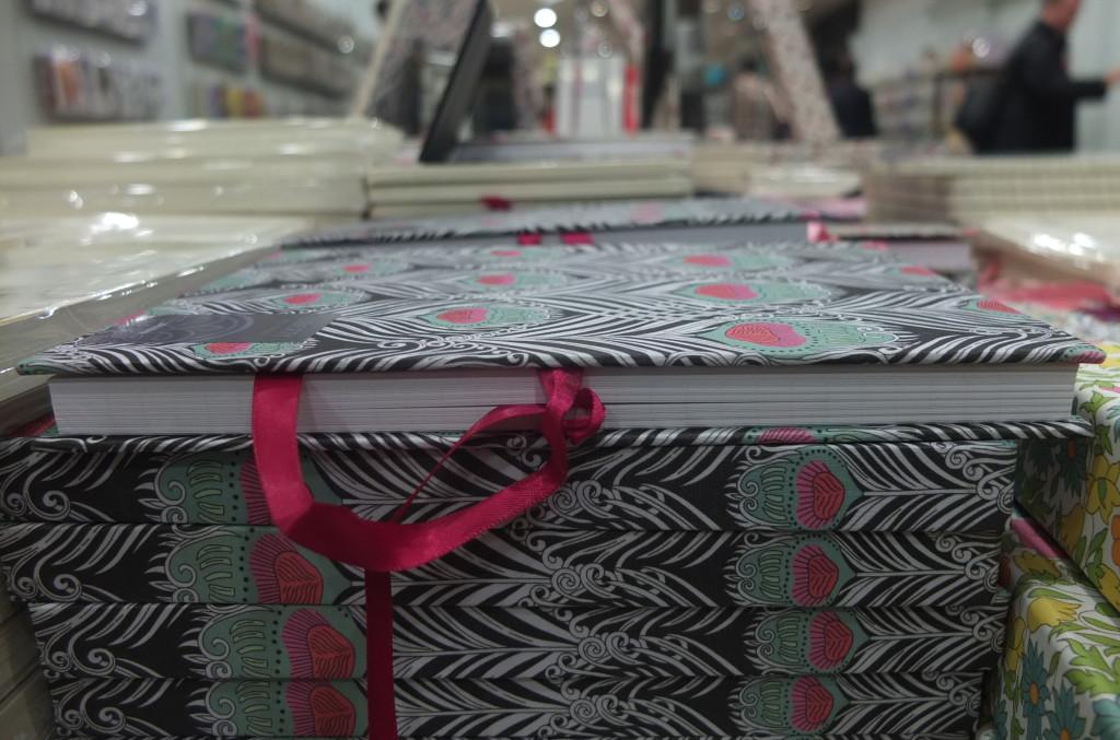 best london souvenir gift Liberty Art print fabric covered notebook