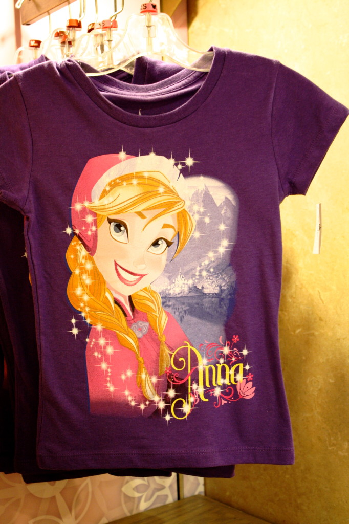 Frozen princess anna t shirt