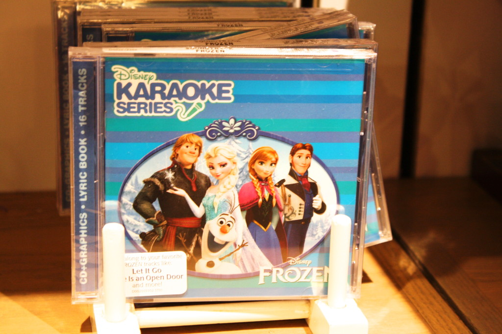 Let it go Frozen karaoke cd with ella anna olaf kristoff