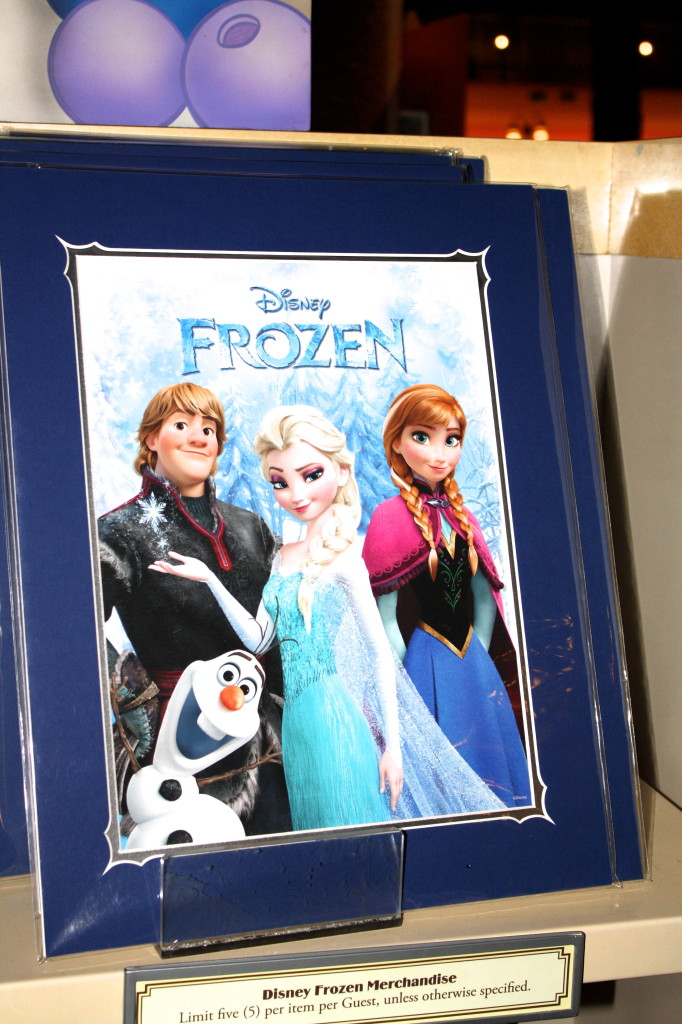 Disney Frozen merchandise poster gift buy