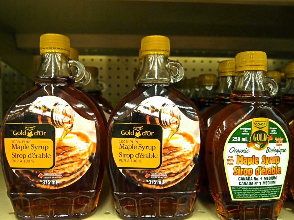 candian maple syrup souvenir