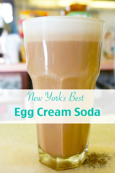 Best Egg cream in NYC Lexington Candy Shop