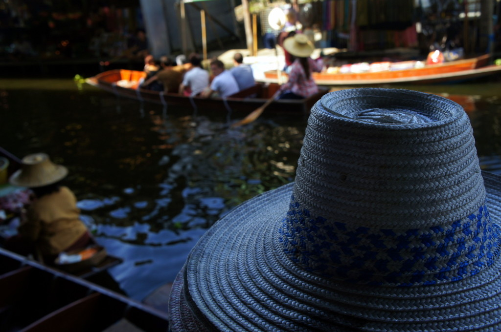 thai souvenir conical hat