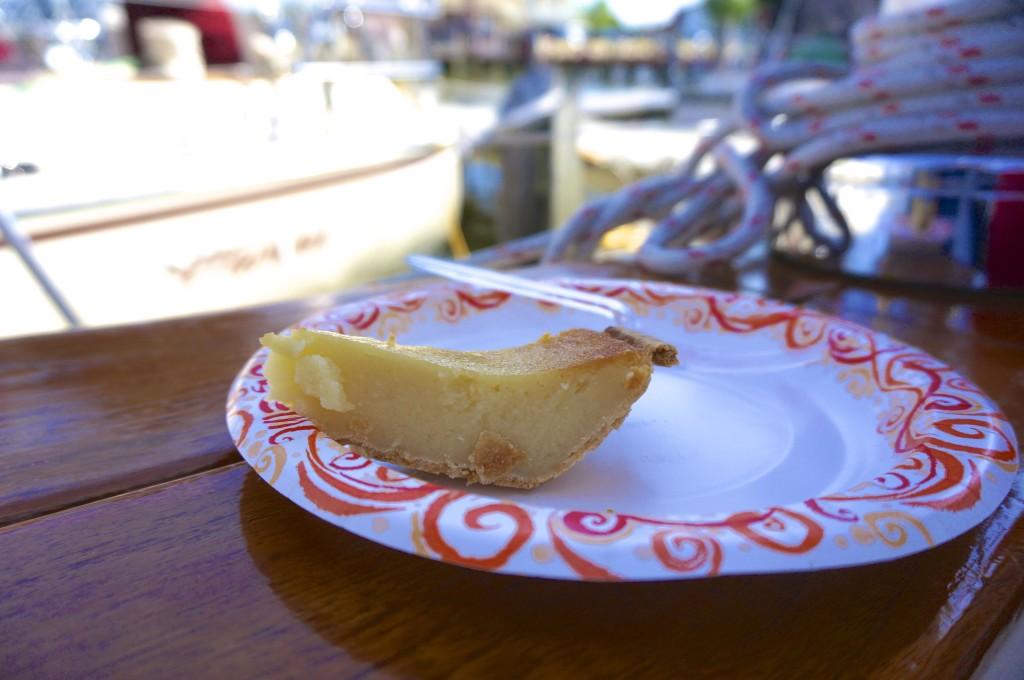 slice white potato pie maryland