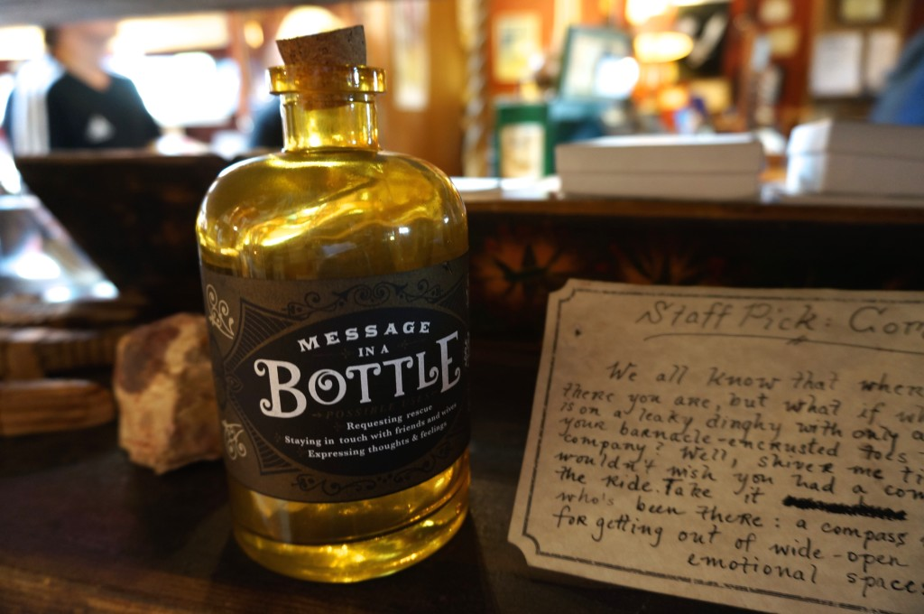 826 Valencia pirate store san francisco message bottle