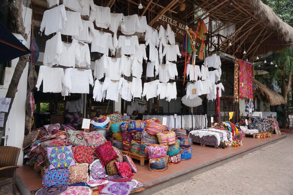 Mexican textile souvenirs