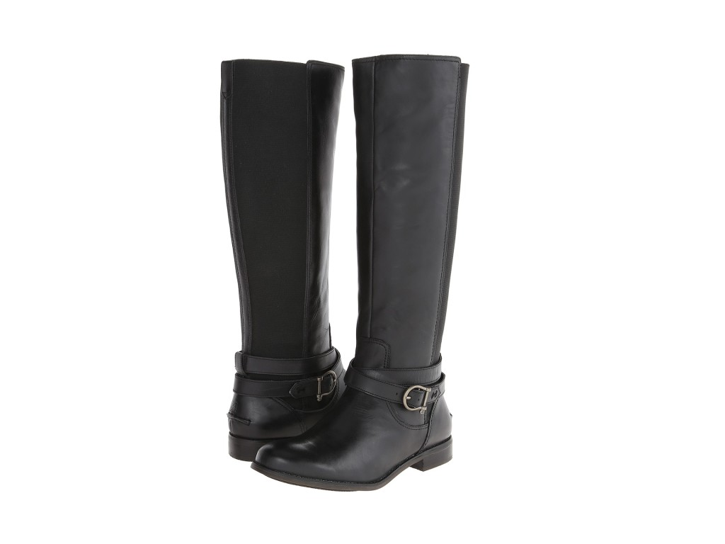 high womens office furlined knee boots shoes leather comforter p black kinetic for women comfortable size