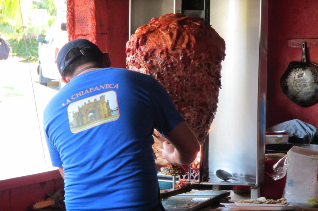 best restaurant tulum mexico tacos al pastor antojitos