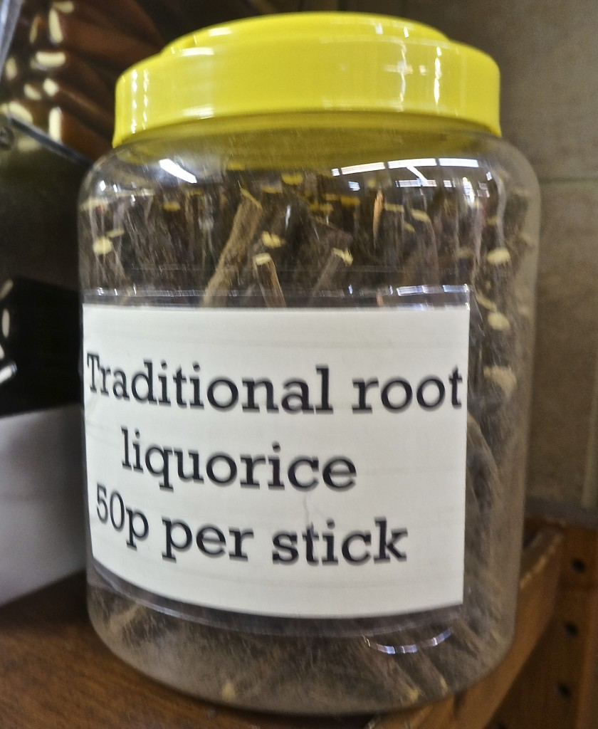 traditional licorice root stick