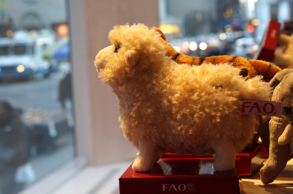 FAO Schwarz stuffed animals sheep lamb popular best-seller unique gift ideas kids