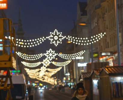 spittelberg christmas market lights decor
