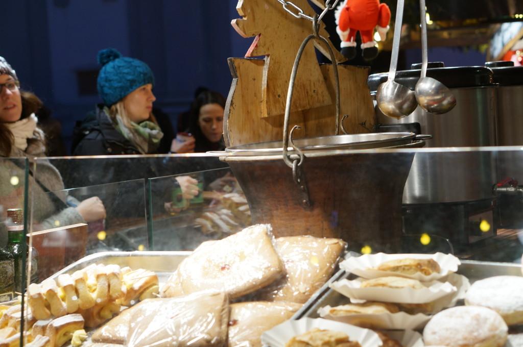 Sweet treats Spittelberg Christmas market food Weihnachtsmarkt