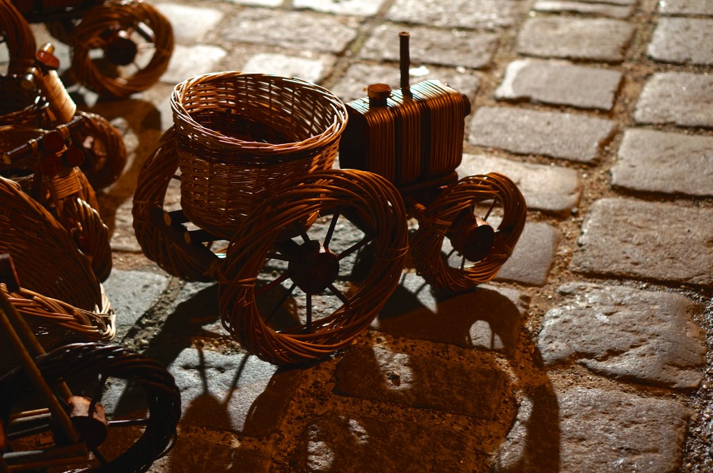 Weihnachtsmarkt am Spittelberg christmas market baskets