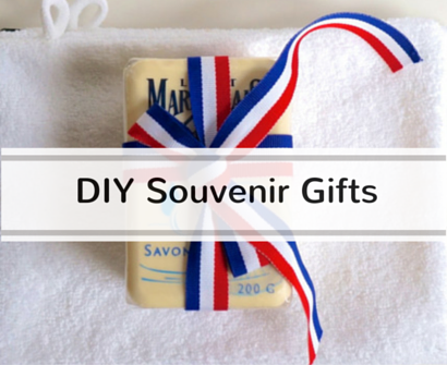 DIY cheap frugal souvenir gifts