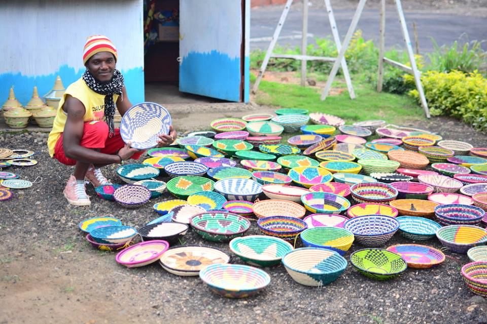 rwanda artisan and bowls