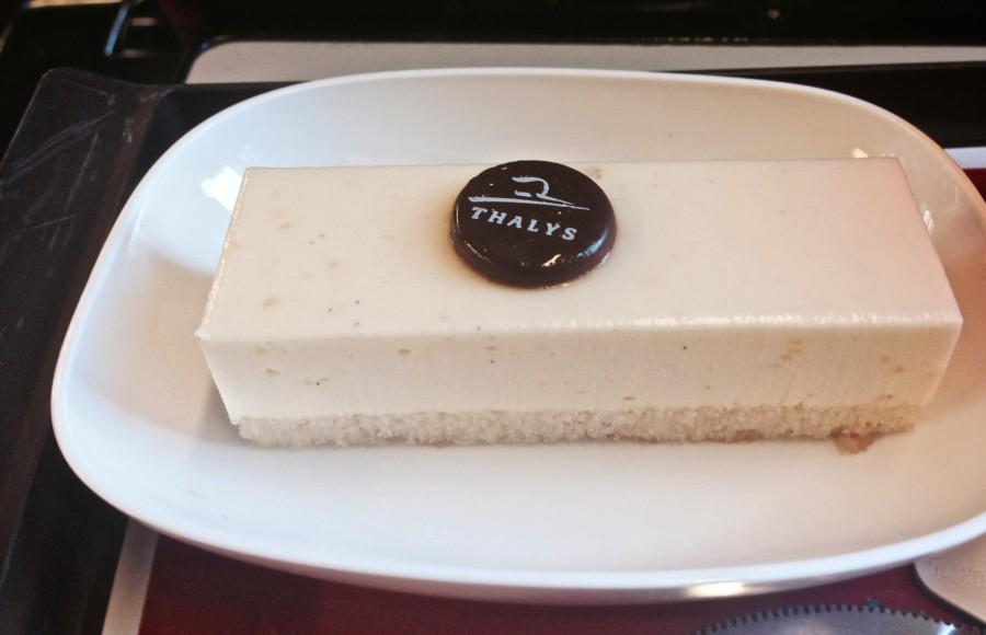 thalys dessert meal first class comfort class 1
