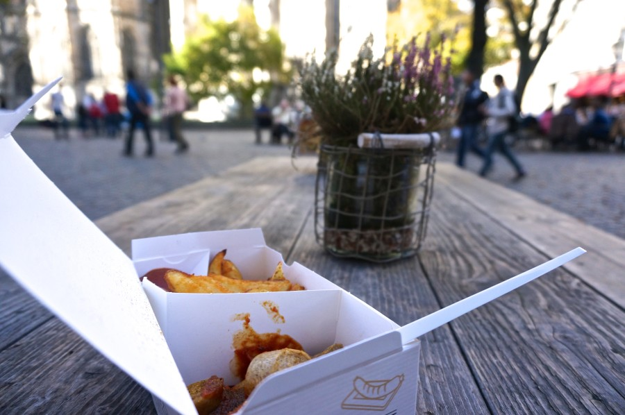 currywurst aachen germany HansWurst