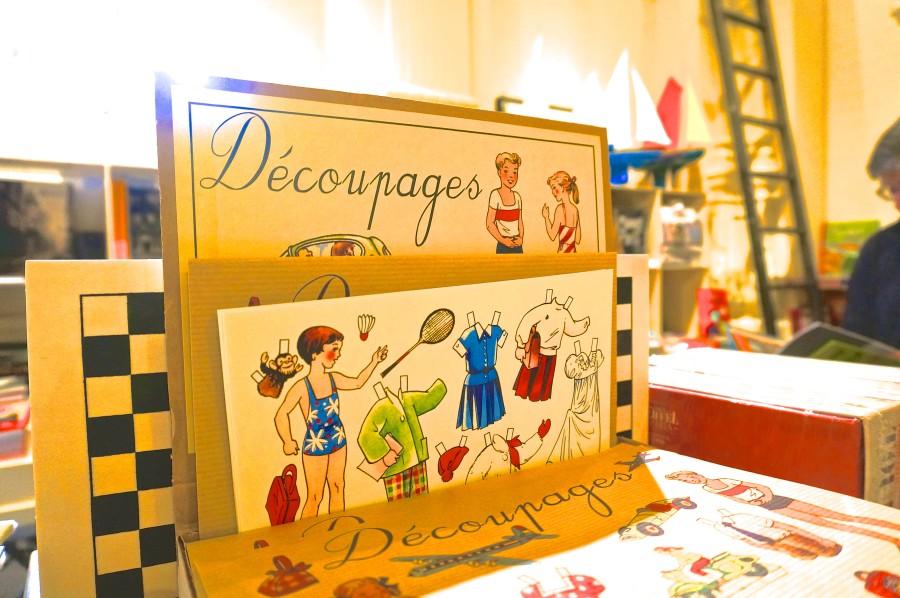 paris french paper dolls kids childrens toys souvenirs