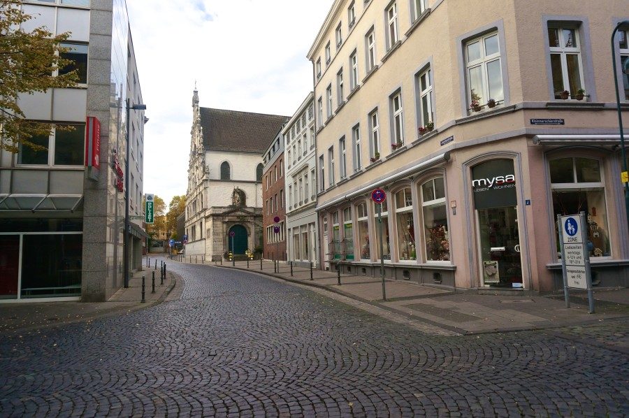 aachen germany streets historic center