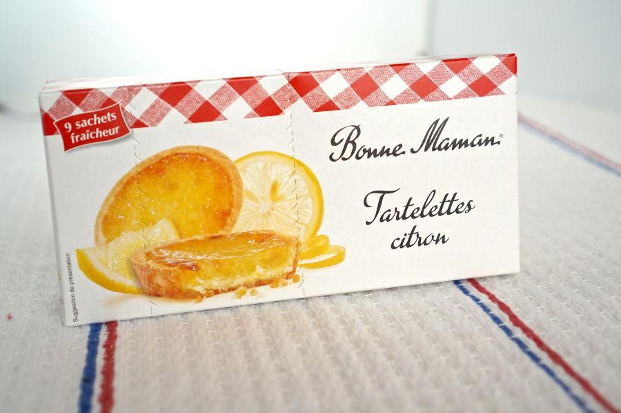 Bonne Maman Tartelettes citron French supermarket souvenirs