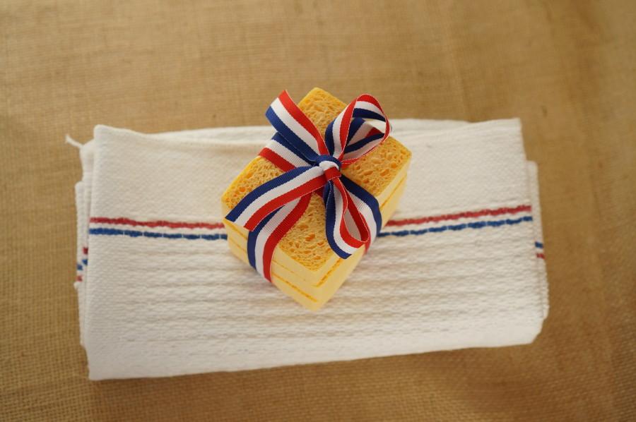 french sponge dish towel DIY gift souvenir france