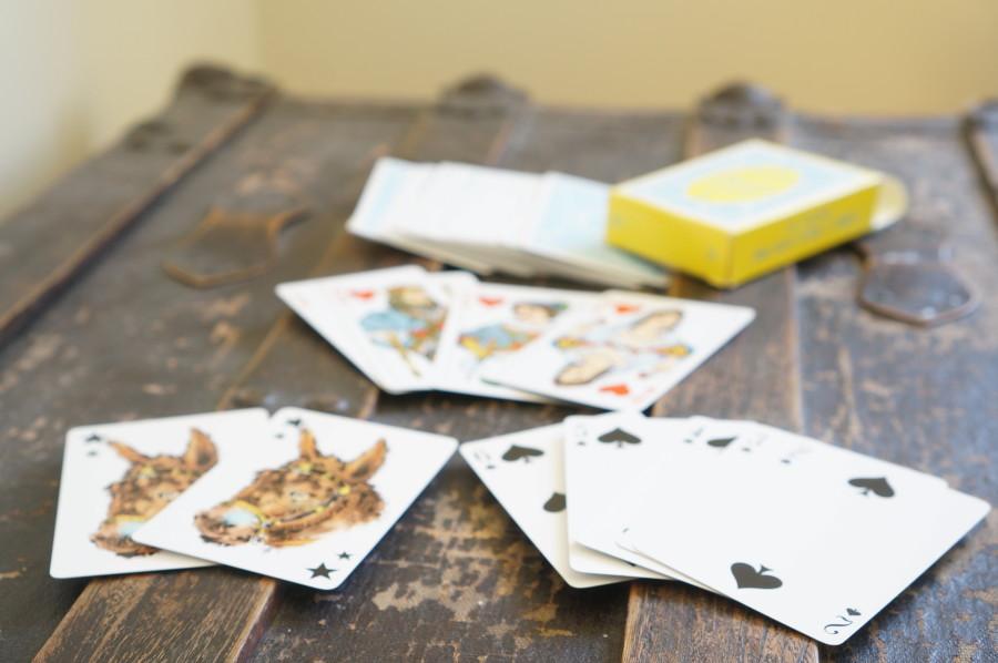 travel souvenir portuguese deck playing cards donkey joker