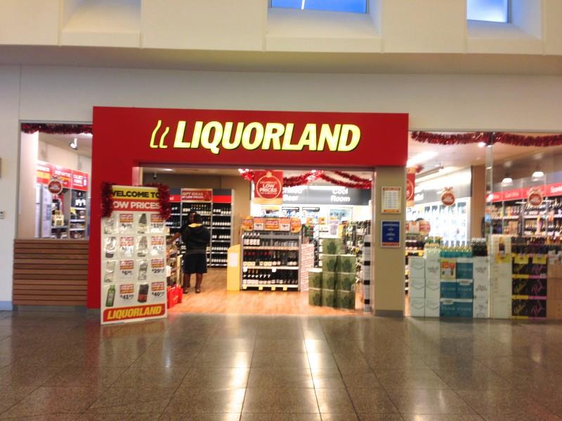 australian liquor store