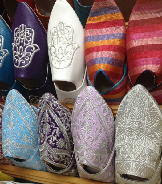 morocco Marrakech souvenirs Slippers best souks