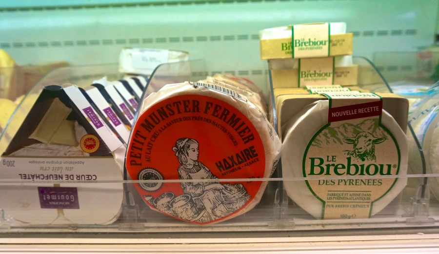 French Supermarket Souvenir Monoprix Cheese