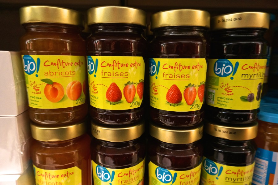 French jam supermarket Monoprix souvenir