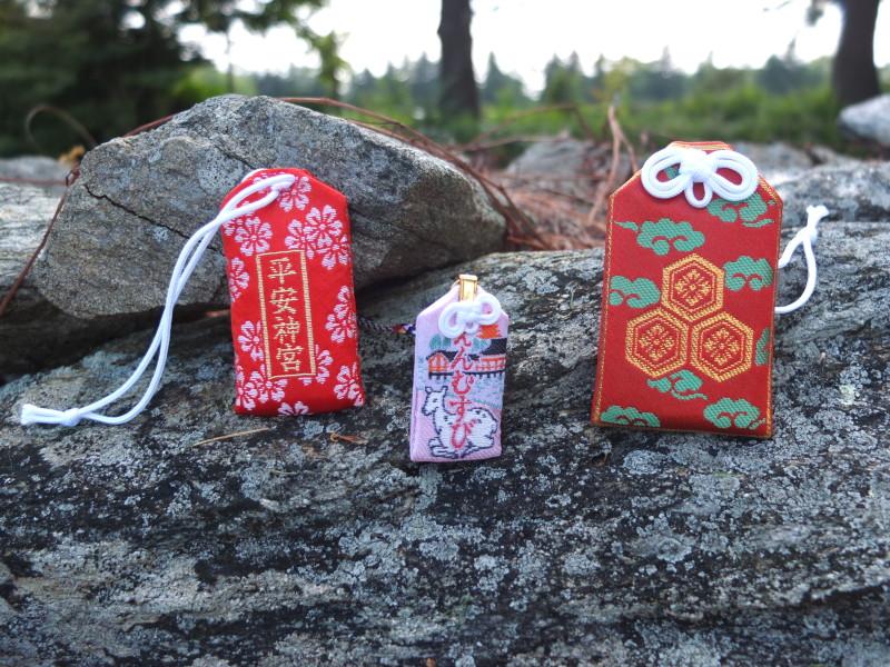 kyoto souvenir omamori amulet japan