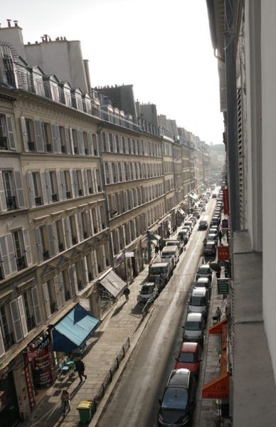 My room had a spectacular view of a classic Parisian street. hotel chavanel