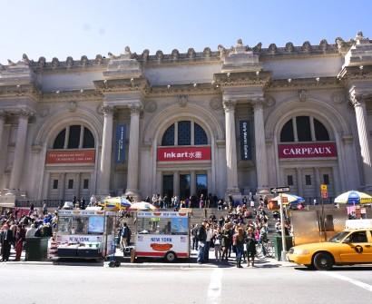 Metropolitan Museum Of Art Building NYC New York