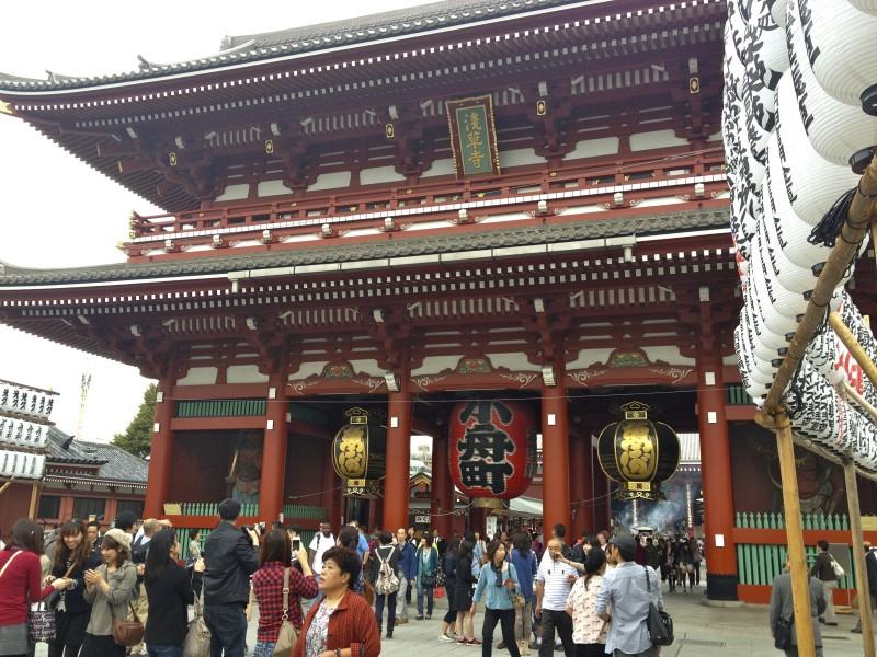 asakusa tokyo temple japan photofinder