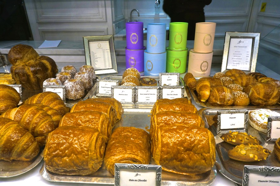 Croissants Laduree Paris Pain au Chocolat