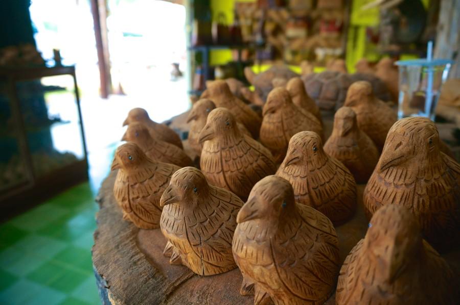 wood carving thailand trang good luck amulet
