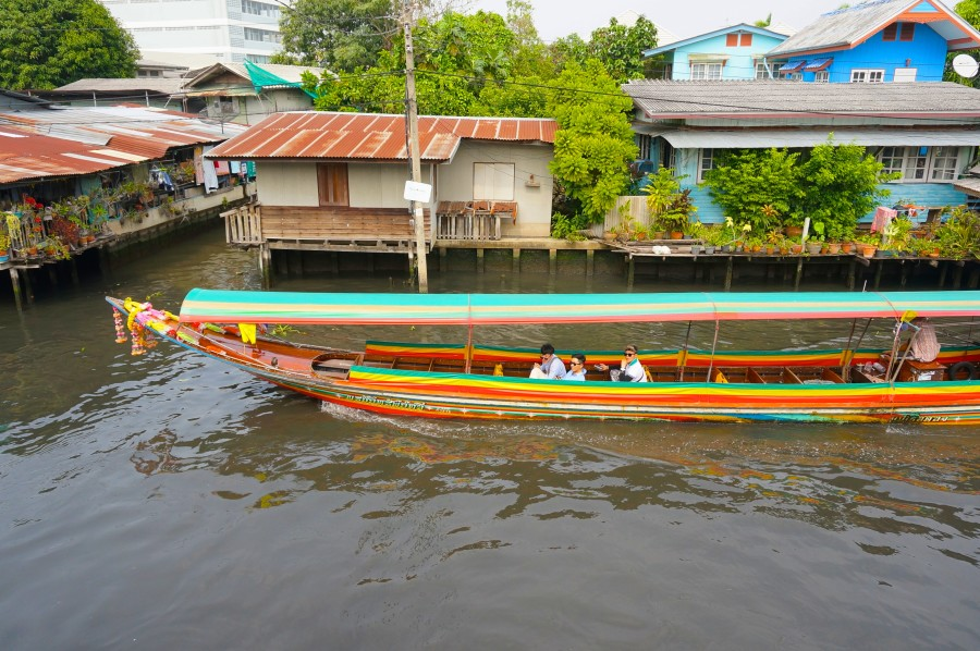 long boat ride tour bangkok canal river