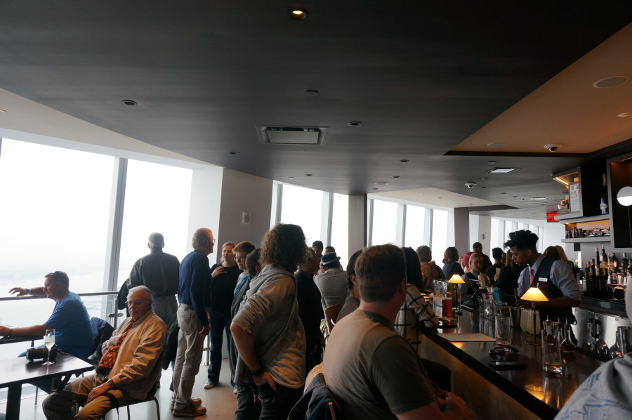 views from bar at one world trade center observatory one mix nyc new york manhatan