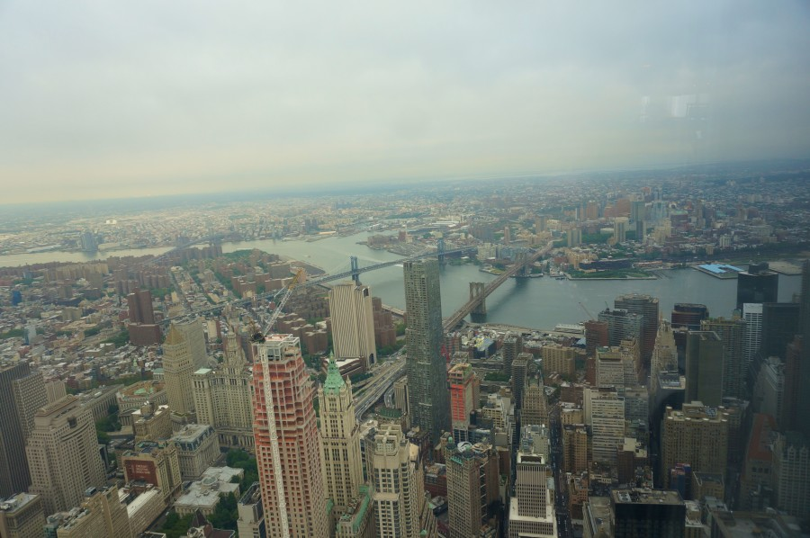 one word trade center observatory views 360 nyc new york new brooklyn bridge manhattan