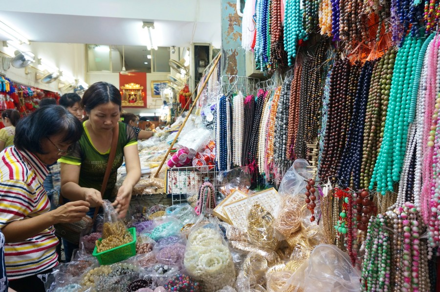 string beads chinatown bangkok