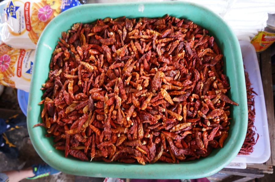 dried thai peppers market