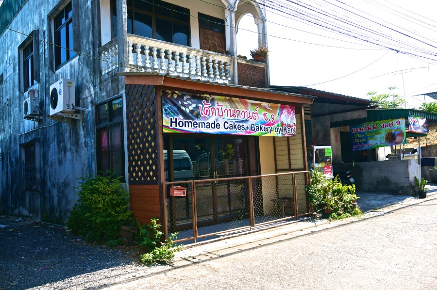 bakery in Thailand trang cake pastries