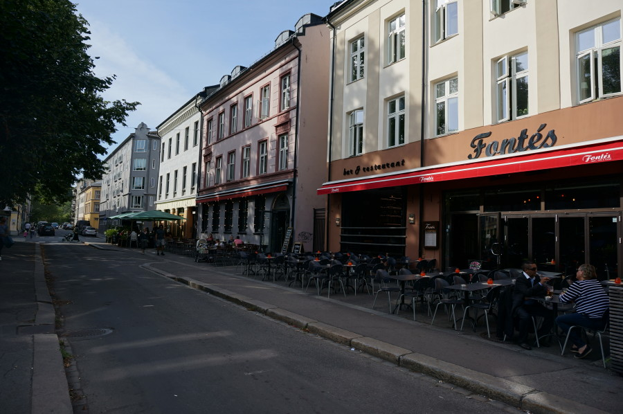 Grünerløkka shopping restaurants
