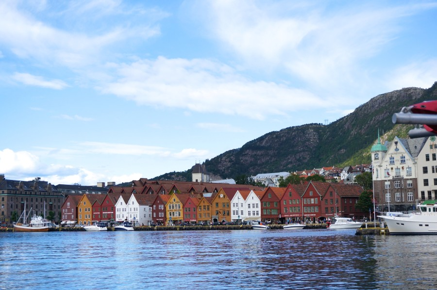 Brygge houses Bergen Norway