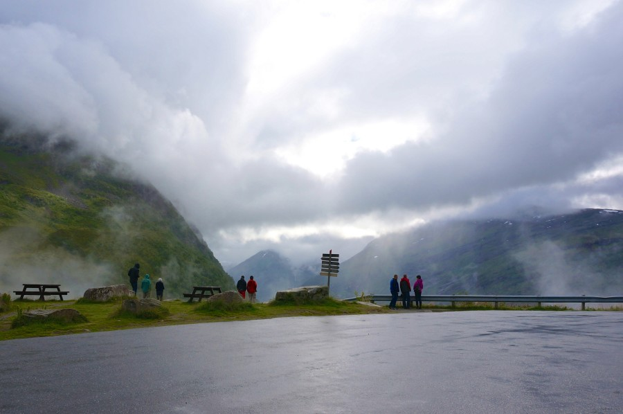Geiranger fjord lookout points norway