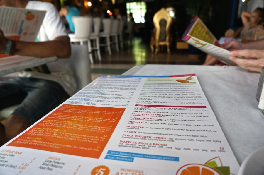 south beach diner menu