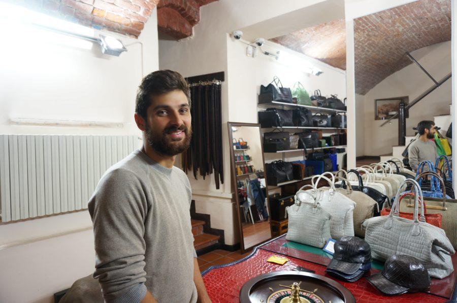 Giosa alligator handbags milan leather handmade craftsmen